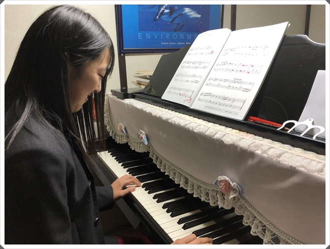 中級ピアノコース
