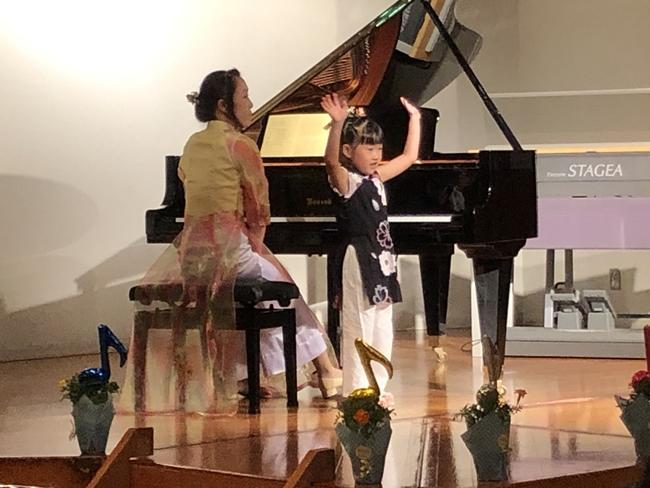 ピアノ発表会 小山市コンサートホール